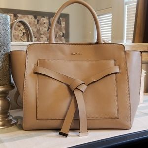 Nine West Taupe Purse with long or short strap